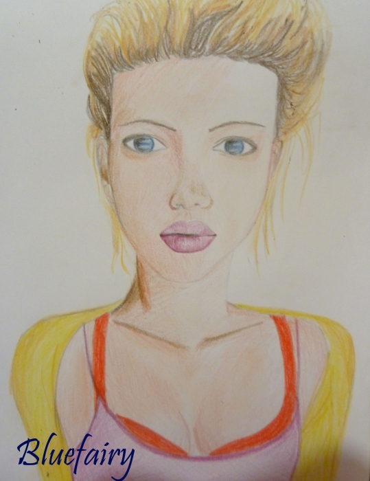 Scarlett Johansson by Bluefairy